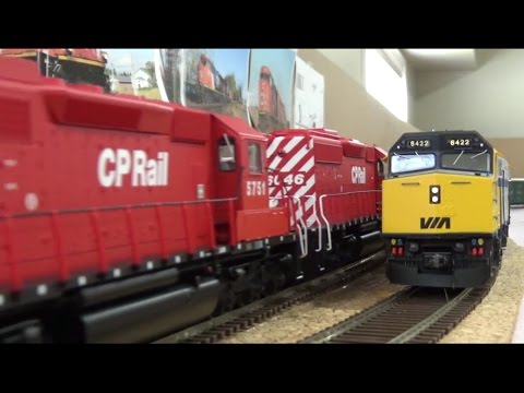HO Ops Session - CN Caramat & Kinghorn Subdivisons - May 2017