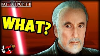 COUNT DOOKU LIED TO ME! - Star Wars Battlefront 2 Count Dooku Gameplay