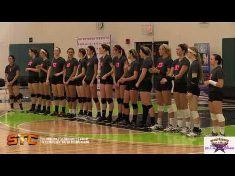 1st set - 6th annual Illinois Volleyball ALL STAR GAME 12.6.15
