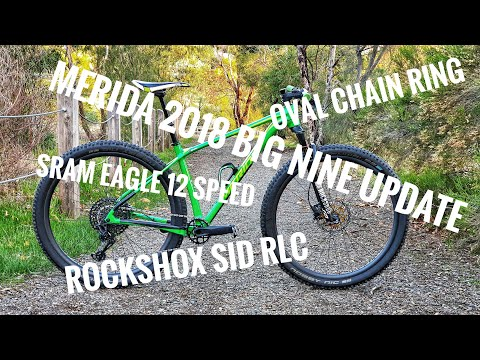MERIDA Big Nine Limited, Mastic Tap, Chinese Carbon, Eagle 12 Speed, Rockshox SID RLC,  Ztto 54t
