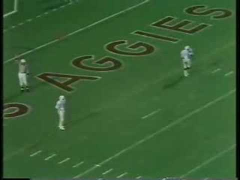 Texas A&M v. Texas 1985 (2) - 12th Man Kick Off Team