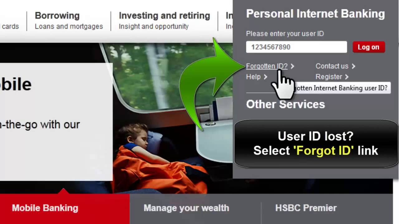 HSBC Bank USA Online Banking Login Instructions