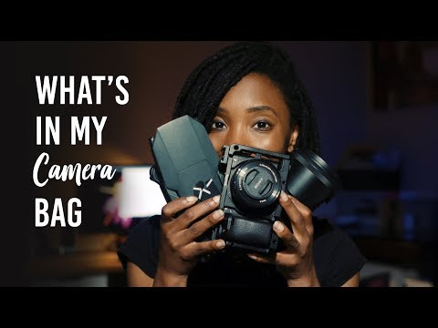 WHAT'S IN MY DAILY CAMERA BAG (2018) | THE ESSENTIAL CAMERA GEAR TO CREATE AMAZING WORK
