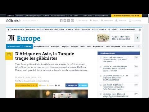 LE MONDE: ERSTMALS IN EUROPA MÄNNER ENTFÜHRT