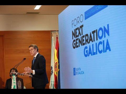 """Feijóo avanza """"buenas noticias"""" para la hostelería de Ourense """"antes del puente"""""""