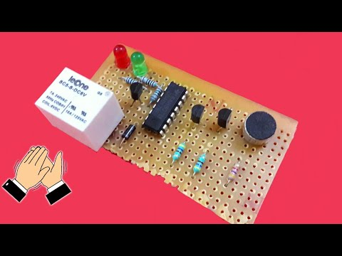 How to make 'Clap Switch' (science project)