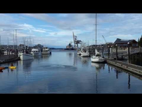 Ship Shifting Berth at Port of Olympia