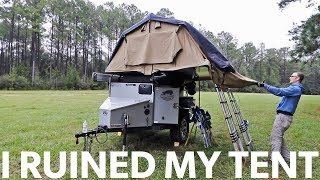 Ep53 - I RUINED my $3,500 CVT Roof Top Tent