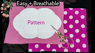 New Design Face Mask Sewing Tutorial Very Easy Pattern How To Make Fabric Face Mask