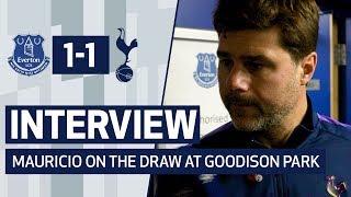 INTERVIEW | MAURICIO POCHETTINO POST EVERTON | Everton 1-1 Spurs