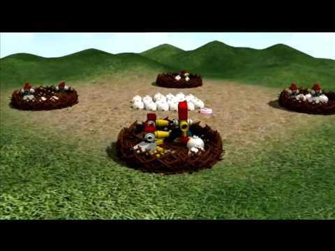 LEGO Stolní hra Kokoriko - pravidla hry