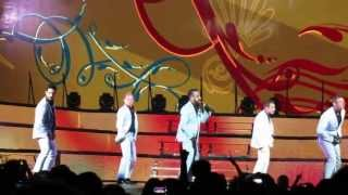 Don't Want You Back  - Backstreet Boys' In A World Like This Tour (Montreal, August 6 2013)