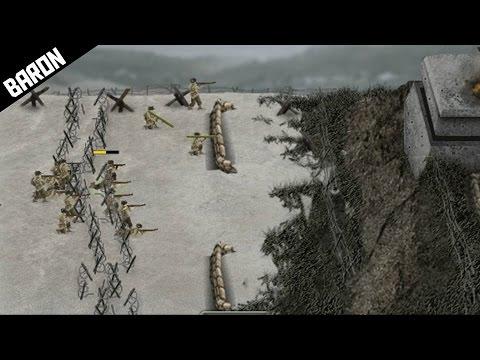 STORMING THE GERMAN BEACHES!  Warfare 1944
