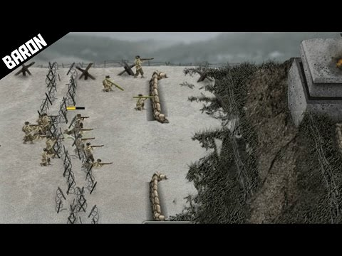 STORMING THE GERMAN BEACHES!  Warfare 1944