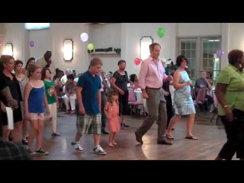 Quot Easy Quot Line Dance For Kids Youtube