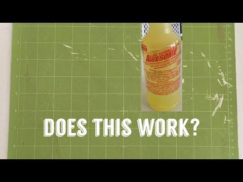 How to Clean Cricut Mat?