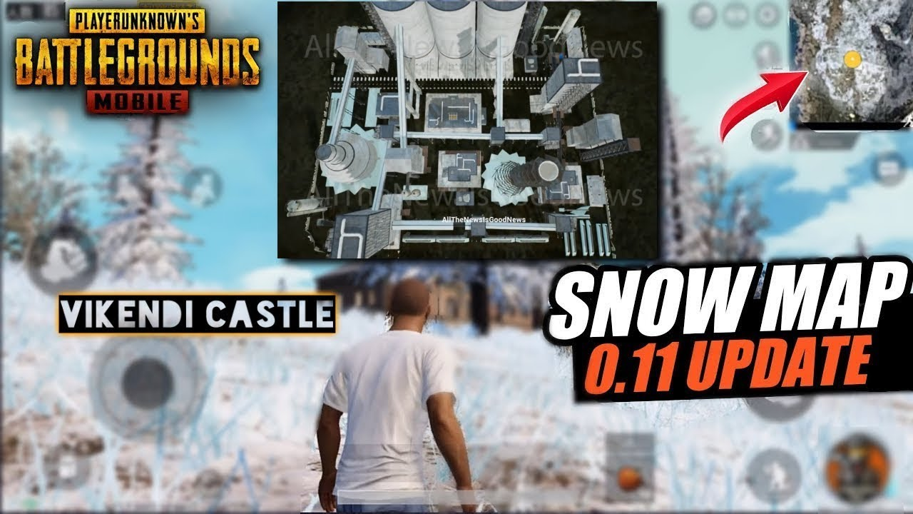 New Snow Map Vikendi Footage From Cement Factory Coming To