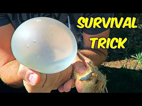 Balloon Trick That Can Save Your Life