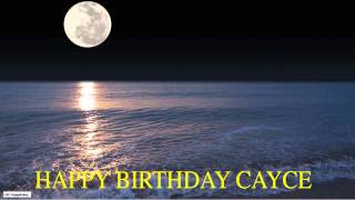 Cayce  Moon La Luna - Happy Birthday