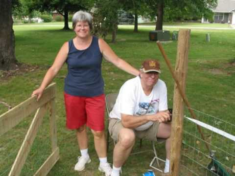 Building A Fence for Daisy and Bentley