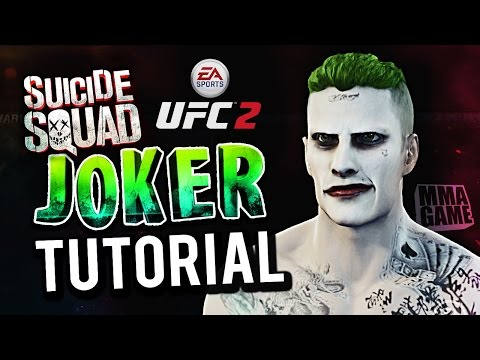 How to Make SUICIDE SQUAD JOKER in EA SPORTS UFC 2 Create a Fighter