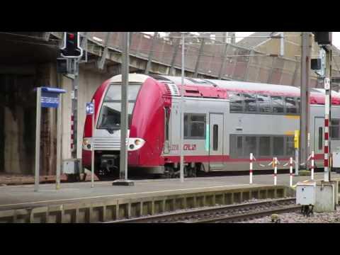 Les trains dans le sud du Luxembourg