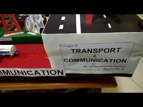Project - Transport & Communication