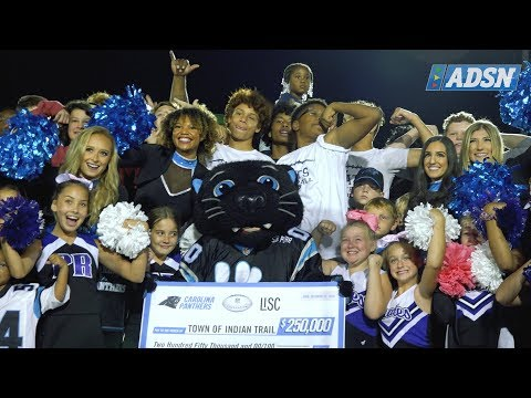 Indian Trail, NC Celebrates Artificial Turf Field Grand Opening with the Carolina Panthers