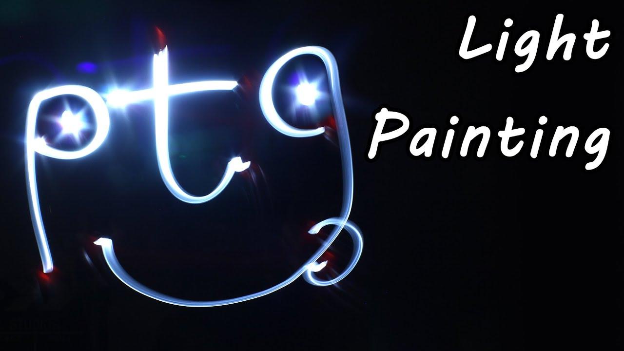 Camera Painting Technique