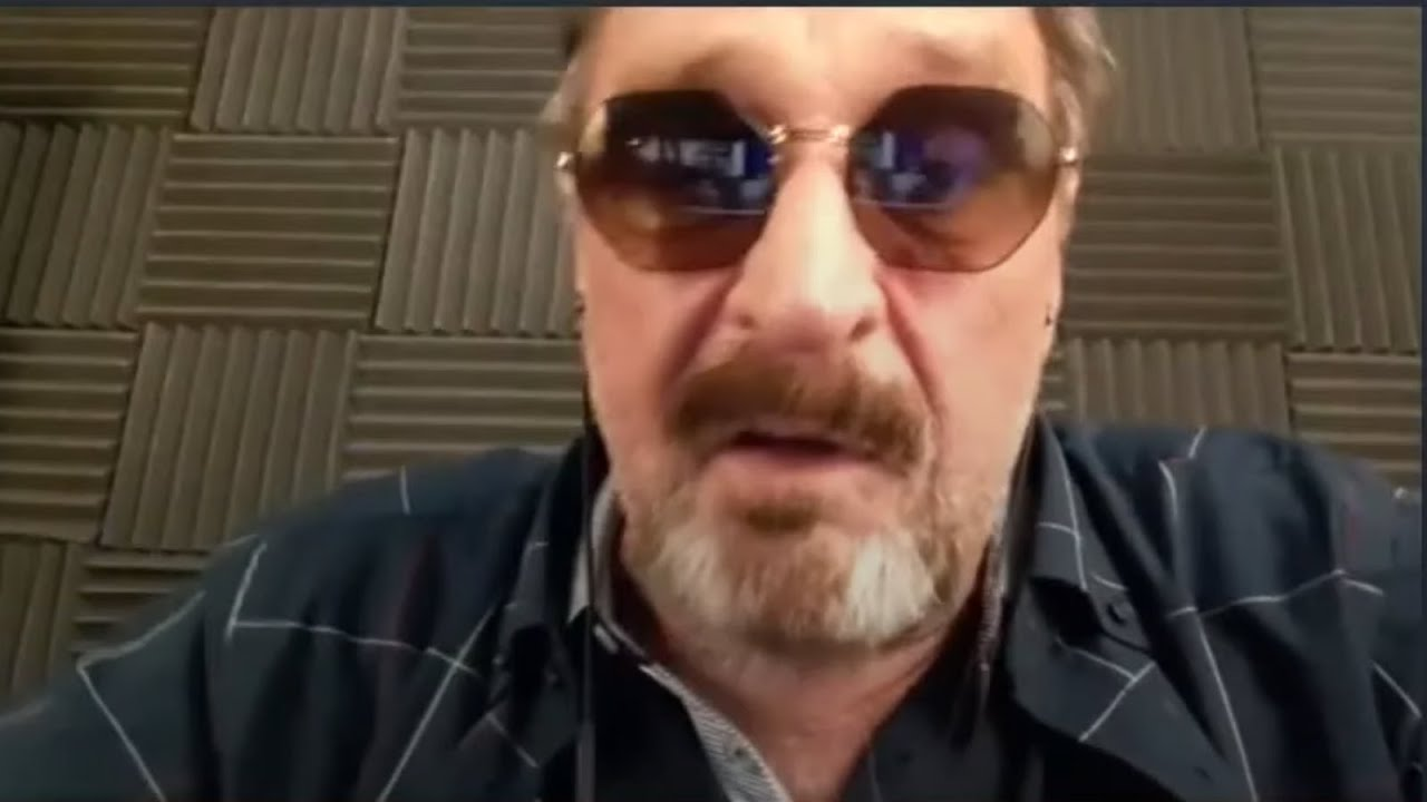 John Mcafee talks about how the Belize government tried to kill him and murdered his dog