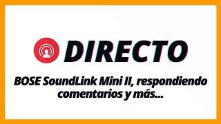 BOSE SoundLink Mini II, respon…