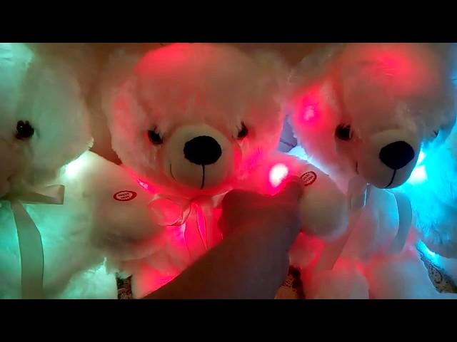 Светящийся плюшевый мишка Teddy