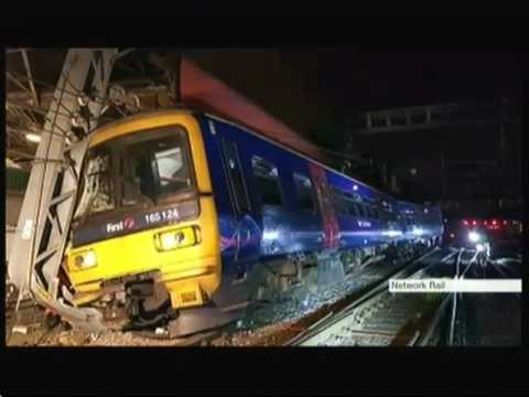 Train crash due to fasting? - BBC London News - 19th August 2016