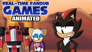 Sand Particles - Real-Time Fandub Games Animated (Sonic 2006)