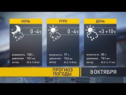 Прогноз погоды на 8 октября: завтра холодно, но к выходным потеплеет