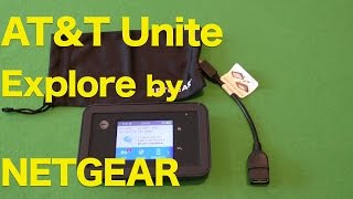 AT&T Unite Explore by NETGEAR Review, Rugged WiFi Hotspot Device