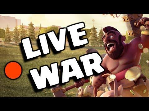 🔴 CRAZE® VS BIG ROCK ELITE 😎 | LIVE CLAN WAR | CLASH CRAZE