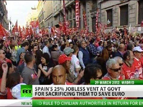 Cut & Furious: Spain 25% jobless to be sacrificed for euro?