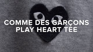 CDG Play Heart Tee | Brief Overview