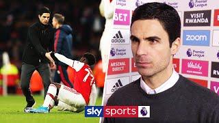 Mikel Arteta reacts to 'cruel' Chelsea comeback | Arsenal 1-2 Chelsea | Post Match