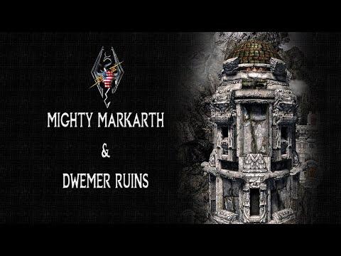 Skyrim SE Mods: Mighty Markarth & Dwemer Ruins