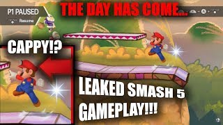 SMASH 5 HAS BEEN LEAKED (SMASH BROS SWITCH)
