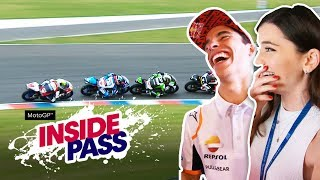 MotoGP 2019 Argentina: How Fast Do Riders React? | Inside Pass #2