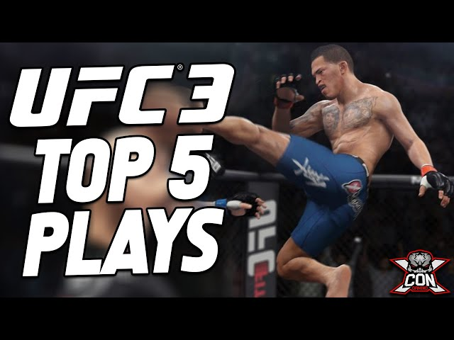 UFC 3 Top 5 Plays From Scrapp Tha Rula