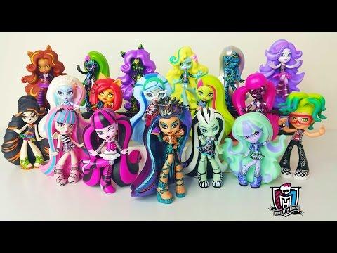 All 19 Monster High Vinyl Figures
