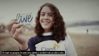 Estudiantes europeos utilizan la tarjeta Live de Guaguas Municipales