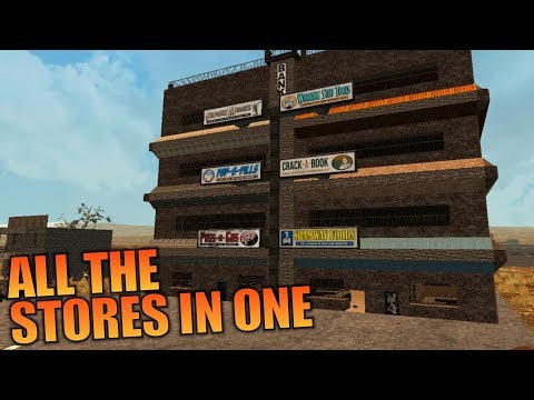 ALL THE STORES IN ONE | WotW MOD 7 Days to Die | Let's Play Gameplay Alpha 16 | S01E14