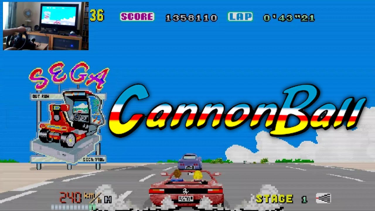Cannonball - The Enhanced OutRun Engine (with live cam) by MrThunderwing