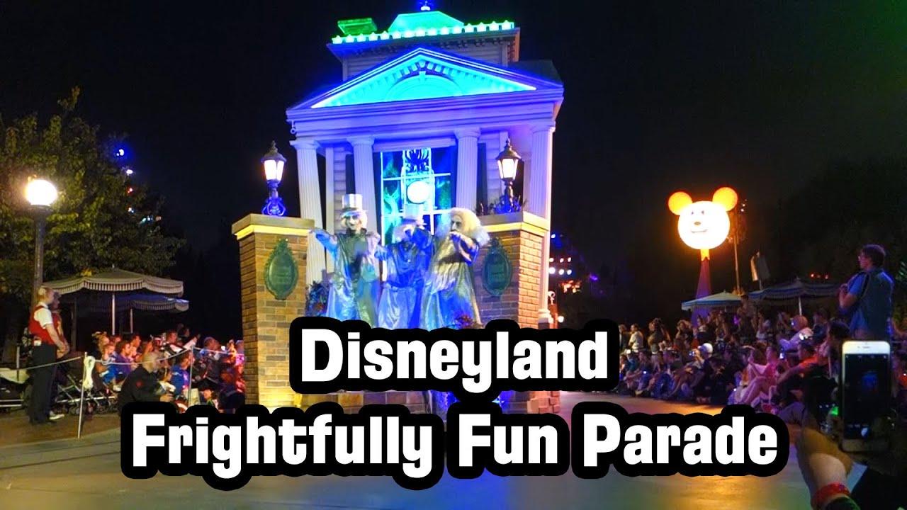 Disneyland Halloween Frightfully Fun Parade (2016) - Full ...