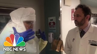 New York Hospital's Cardiac Unit Pivots To Treat COVID-19 Patients | NBC News NOW